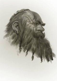 Dwarf 1, Even Amundsen on ArtStation at http://www.artstation.com/artwork/dwarf-1