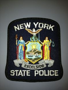 New York State Police patch