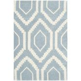 Found it at AllModern - Chatham Ikat Blue & Ivory Area Rug