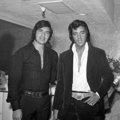 Elvis and Engelbert. I saw Engelbert at the Indiana State Fair in 1979. He was so exotic and sang After The Lovin'