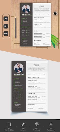 Graphic Design Resume, Professional Resume, Resume Templates, Positivity, Joy, Resume Maker Professional, Glee, Being Happy, Optimism