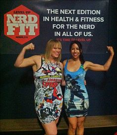 AND THE GEEKS SHALL INHERIT THE GYM: Nrdfit opens to the public at new venue with a packed launch!