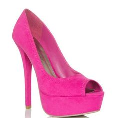 Add a pop of color to any look with Aveline. This lush open-toe pump provides an easy and affordable way to work the current colorblock trend Suede Pumps, Pink Pumps, Open Toe Shoes, Shoe Closet, Beautiful Shoes, Fashion Boutique, Me Too Shoes, Fashion Shoes, Shoe Boots