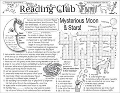 Enjoy a Moon and Stars-themed Two-Page Activity Set and an Outer Space puzzle with this discounted bundle! Includes the following products:  • Mysterious Moon and Stars Two-Page Activity Set • Outer Space Word Search Puzzle • Mysterious Moon and Stars Reading Log and Certificate Set