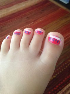Cyans toes by dad