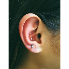 Here are the most popular ear piercings, and what they're called.