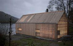 Переделанное строение для хранения лодки в Норвегии (Интернет-журнал ETODAY)