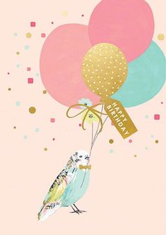 """Comes with color-coordinated envelope. Packaged in cello jacket. Features a decorative foil. - Inside Greeting: Have a great day! - Artist Louise Tiler - Card measures: 4.5"""" x 6.25"""" - Manufacturer: Ca"""