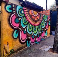 31 ideas painting walls street banksy for 2019 Murals Street Art, Graffiti Art, Banksy Art, Graffiti Flowers, Street Wall Art, Stylo Art, Urbane Kunst, Garden Mural, School Murals