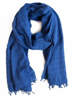 Niguse Textured Solid Color Scarf   fashionABLE