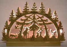 Schwibbogen w/EvergreenTrees
