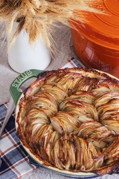 Hasselback Potato Gratin Recipe -- buttery, full of herbs and garlic, and a great Thanksgiving potato side dish with a twist. So delicious we might even skip the mashed potatoes this year! Yum!
