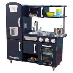 Found it at Wayfair - KidKraft Blue Vintage Kitchen IIhttp://www.wayfair.com/KidKraft-Vintage-Kitchen-Play-Set-53296-KK2377.html?refid=SBP