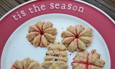 Pure fuel: Classic Holiday Recipe Makeover: Spritz Cookies