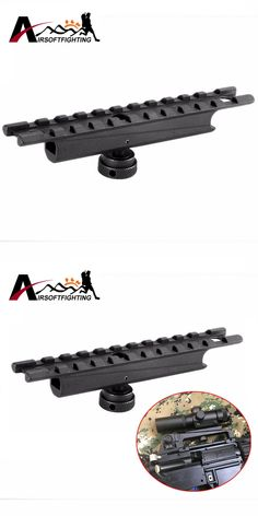 Alloy AR15&M16 20mm Scope mount Weaver Rail for Carry Handles Airsoft Shooting Hunting Tactical Quick Release Rifle Gun Rail BK#