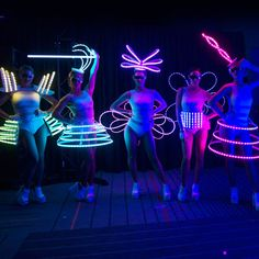 The incredible LED Costume Dancers will dazzle your guests with their unique costumes. The female dancers provide the ideal wow factor, and look great with DJ or live bands and exhibitions Festival Outfits, Festival Fashion, Light Up Clothes, Rave Gear, Female Dancers, Unique Costumes, Neon Party, Halloween Disfraces, Cybergoth