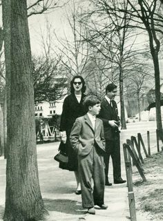 Crown Prince Alexander with his parents, Peter II and Alexandra of Yugoslavia.