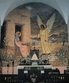 December 10, not on universal calendar: Lady of Loreto: Feast of the Translation of the Holy House of Loreto