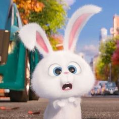 New Funny Disney Wallpaper Life Ideas Cute Disney Wallpaper, Cute Cartoon Wallpapers, Cartoon Pics, Snowball Rabbit, Cute Bunny Cartoon, Rabbit Wallpaper, Screen Wallpaper, Pets Movie, Secret Life Of Pets