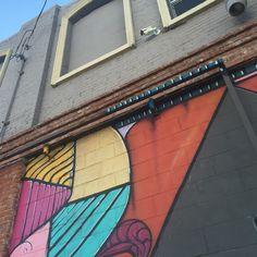 Street art in Los Angeles, California Art District