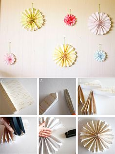 I just might make some of these for my dorm room.
