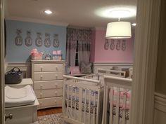 Twin boy and girl nursery