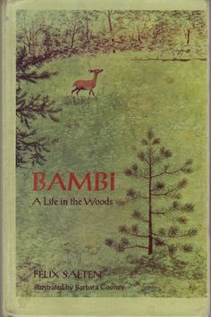 vintage kids classic book Bambi A Life In The by OnceUponABookshop, $5.00