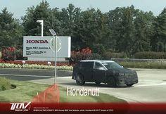 2019 #AcuraRDX spied outside the #Honda R&D centre in Ohio