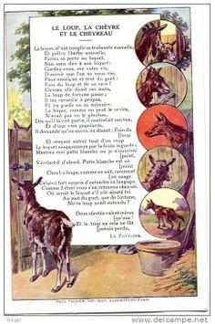 Le loup, la chèvre e