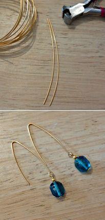 Simple Fishook Earrings