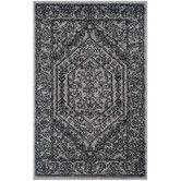 Found it at Wayfair - Adirondack Silver/Black Area Rug
