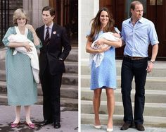 First Picture of Kate Middleton and Prince William's Son