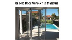bi fold and bifold door Malaysia #bifolddoor #bifolddoormalaysia http://malaysiadoor.com/door-by-type/bifold-door-malaysia.html