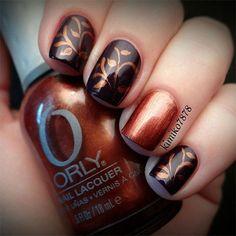 15 + Cute & Easy Fall Nail Art Designs, Ideas, Trends & Stickers 2014   Autumn Nails