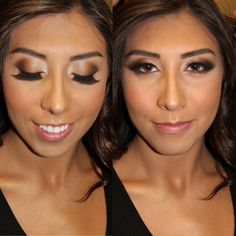 Airbrush makeup look without the professional machine  @ Kissablecomplexions.com