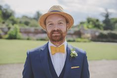 """Image by  target=""""_blank"""">O&C Photography. - An alternative outdoor relaxed wedding with a big top circus and festival theme, outdoor games and bespoke wedding dress from Millie Couture by LM Designs"""