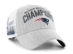 New England Patriots  47 NFL Super Bowl LIII  47 Sec Championship Heather  MVP Cap. Super Bowl GearSec ... 0d510a69881e