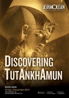 Discovering Tutankhamun exhibition closes 2 November. Find out more: www.ashmolean.org/tut