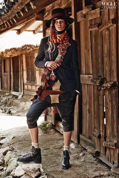 Vogue Juli-Ausgabe 2015 mit Toni Garrn