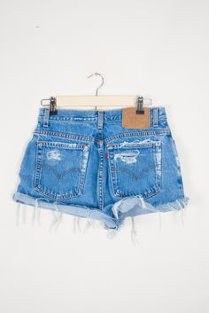 Distressed High Waisted Shorts Vintage Denim Shorts | Jean Cut Off Shorts xs s m l xl xxl