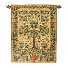 photo of William Morris Tree of Life Tapestry Wall Hanging
