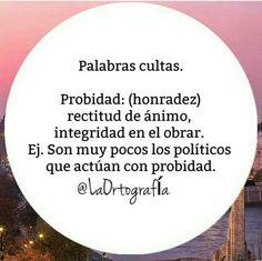 ¿Qué significa la palabra «probidad»? #vocabulario #español