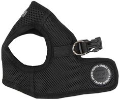 Puppia Soft Vest Dog Harness - Black - Medium ** To view further, visit now : Harnesses for dogs