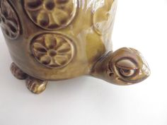 mccoy cookie jar collectibles | McCoy Turtle Cookie Jar Tommy the Turtle Tortoise No. 271 Vintage ...