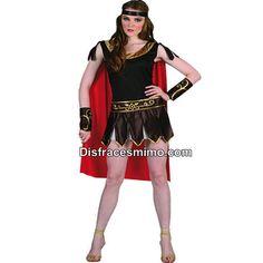 DisfracesMimo, disfraz gladiadora romana mujer adulto.Este disfraz es ideal para Carnaval, Despedidas, Ferias Históricas, Eventos Temáticos, Representaciones Teatrales y Fiestas de Disfraces.Este disfraz es ideal para tus fiestas temáticas de disfraces romanos y egipcios para mujer adultos.