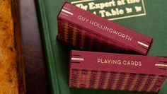 Guy Hollingworth Playing Cards
