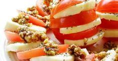 10 idei pentru un mic dejun dietetic Caprese Salad, Food, Essen, Meals, Yemek, Insalata Caprese, Eten