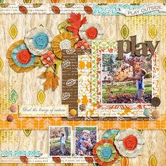 Climbing Trees and Falling Leaves Kit by Etc by Danyale Climbing Trees and Falling Leaves Word Art by Etc by Danyale Fuss Free: Play It Again 13 by Fiddle-Dee-Dee Designs