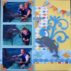 Layout: Swim with the Dolphins - Right Side