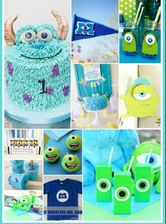 Monster Inc. Party ideas Beckett would love this!!!